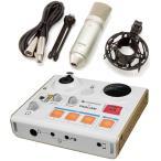 TASCAM US-32+TM-80 MiNiSTUDIO PERSONALインターネット生放送(USBオーディオインターフェース+純正コンデンサーマイク)/送料無料