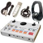 TASCAM US-42+TM-80+CAD MH510CR MiNiSTUDIO CREATOR インターネット生放送(オーディオI/F+純正マイク+ヘッドホン)/送料無料