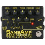 【ポイント5倍】TECH21 Sans Amp BASS DRIVER DI V2 ベース用 プリアンプ / DI/送料無料