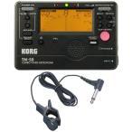 ショッピングチューナー KORG TM-50 BK+KC KTM1200 チューナー/メトロノーム+コンタクトマイクセット/メール便発送・代金引換不可