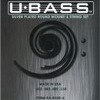 【ウクレレベース弦×1セット】KALA KA-BASS4 U-BASS用 ラウンドワウンド ガット弦 ウクレレベース 弦/メール便発送・代金引換不可