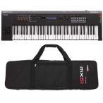【ポイント11倍】YAMAHA MX61 BK+専用ソフトケース 良い音を気軽に持ち運ぶシンセサイザー/送料無料