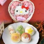 クリスマス ハローキティのプリザーブドフラワーと お絵かきマカロン 動物っこ お菓子と魔法のお花 個人様 法人様