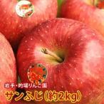 お歳暮 ギフト フルーツ りんご サンふじ 約2kg 5〜6玉入り 岩手県産 生産者限定 くだもの 御歳暮 贈答 贈り物