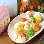 クリスマス お絵かきマカロン 動物っこ 10個入り | お菓子 かわいい 動物 スイーツ ギフト プレゼント 子ども Xmas