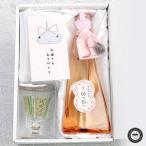 母の日限定 出雲 須佐の風穴貯蔵 純米酒 縁の風 ・陶香堂手作りグラス・天然石セット