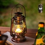 ランタン LED おしゃれ LEDランタン キャンプ アウトドア BBQ 室内 アンティーク調 レトロ インテリア 暖色 単三電池 電池式 防災 吊り下げ 置き型