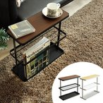 サイドテーブル おしゃれ ソファサイドテーブル ベッドサイドテーブル シンプル モダン マガジンラック ナイトテーブル TOWER タワー