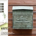 郵便ポスト 壁掛け 屋外用 おしゃれ メールボックス ポスト 郵便受け 壁面取付 玄関 鍵付き ヴィンテージ アンティーク アメリカン インダストリアル