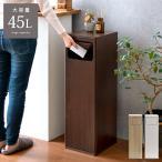 ゴミ箱 おしゃれ 45リットル キッチン リビング スリム 蓋付き フタ付き ダストボックス ごみ箱 角型 縦長 袋が見えない 家具 インテリア 北欧 モダン