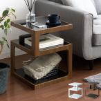 サイドテーブル おしゃれ 北欧 ソファーサイドテーブル ナイトテーブル リビング 寝室 ガラス ベッド サイド—テーブル シンプル モダン
