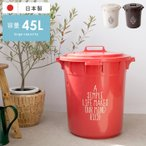 ゴミ箱 おしゃれ 45リットル 分別 ダストボックス ごみ箱 ふた付き フタ付き 屋内 屋外 大型 大容量 キッチン 蓋付きゴミ箱 おしゃれなゴミ箱 45L