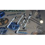 【スキッパー】レクサス LS460/460L/600h/600hL(40系) エアサス車用 LOWER LINK KIT(F/40mm,R/30mmダウン)(前期・中期/純正