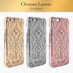 iphone6s iPhone6 背面 クリア ハードケース Christian Lacroix (クリスチャンラクロワ)・公式ライセンス品