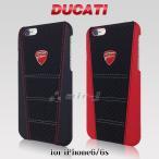 ポイント10倍 DUCATI 公式ライセンス品 iPhone6 iPhone6sケース ハードケース 本革 ドゥカティ アイフォン6ケース iPhone6sケース メンズ ブランド