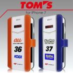 TOM'S トムス 公式ライセンス品 iPhone7 iPhone6s iPhone6 専用 PUレザー 手帳型ケース アイフォン7 アイフォン6s アイフォン6