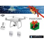 即納 ドローン DJI ファントム4 Phantom4 4Kカメラ付   予備バッテリー2個つき + 12000円相当のお楽しみプレゼント付