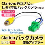 バックカメラ変換アダプター スズキ スペーシアカスタム H26.12〜H27.5 MK32S バックカメラ接続 バック連動 リバース  同等品