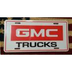 インテリア アメリカン 雑貨 ガレージ  ナンバープレート GMC TRUCK トラック