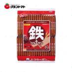 【1ケース】鉄プラスコラーゲンウエハース ココア味 (40枚入×10個入り) 【同梱不可】