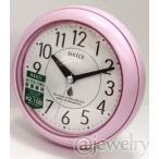 バスクロック 防水防塵 掛置兼用時計/アクアパーク ピンク 4KG711DN13(DA13/DB13)