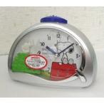 リズム時計 スヌーピーめざまし時計/4SE506MJ19 (取寄せ)