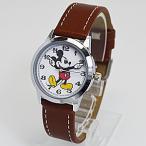 フィールドワーク 腕時計 ウォッチ/ディズニー ミッキーマウス 手針 キャメル MKN005-8