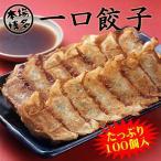 送料無料 本場博多のパリパリジューシーな一口餃子 たっぷり100個お中元・お歳暮対応・名入れできます 国産原料