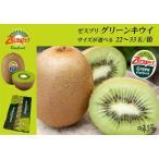 ゼスプリ グリーンキウイフルーツ 果実の大きさが選べます 22〜33玉入り箱 Zespri 送料無料