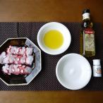 たこ屋さんがおすすめするおいしい蒸したこの食べ方セット(岩塩&オリーブオイル)