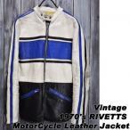 ajito 1970's  シングル ライダース ザリアルマッコイズ ブコ スタイルキング レザー ビンテージ コート ヴィンテージ ブルゾン 38サイズ