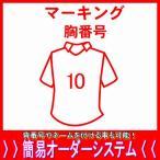 マーキング胸番号/父の日、母の日、こどもの日、お誕生日、結婚式のプレゼントに名入れサッカーユニフォーム