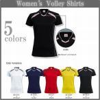 女性用ゲームシャツ/半袖バレーボールシャツ/チームオーダーバレーボールユニフォーム/レディース