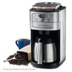 (送料無料) CUISINART クイジナート ミル付き全自動コーヒーメーカー12杯用 グラインダー付 豆挽タイマー付ステンレスポット DGB-900PCJ212カップ オートマチッ