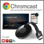 (google chromecast) グーグル クロムキャスト ストリーミング/音楽/動画/映像/アプリ/HDMI/クロームキャスト/Android/スマホ/タブレット/ミラーリン