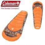 【 Coleman 】 コールマン 寝袋  リアルツリー マミー型 シュラフ 寒冷地仕様 カモマミー CAMO MUMMY  -17.8℃まで対応  スリーピングバッグ キャンプ アウトド