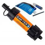 【SAWYER MINI】ソーヤー ミニ SP103 携帯用浄水器 災害時、緊急時に 安全な水を確保します。(並行輸入品) オレンジ/浄水器/防災グッズ/災害/キャンプ/アウト