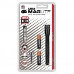 【MAGLITE】マグライト  MINI ミニ LED フラッシュライト ブラック  明るさ100ルーメン 2AAA  単四電池×2本使用 MAGLITE MINI LED 2-CELL AAA FLASHLIGHT SP320