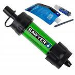 【SAWYER MINI】 ソーヤー ミニ SP101 グリーン 携帯用浄水器 災害時、緊急時に 安全な水を確保します。(並行輸入品) 浄水器/防災グッズ/災害/キャンプ/アウト