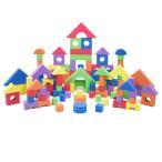 【300ピース】ヤトミ ソフトブロックコレクション 長方形収納袋付 【柔らか積み木】