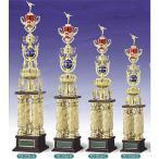 トロフィー、優勝カップ 文字彫刻無料 4本柱トロフィー TO3056C