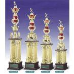 トロフィー、優勝カップ 文字彫刻無料 4本柱トロフィー TO3058A