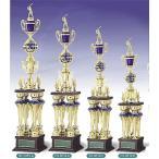 トロフィー、優勝カップ 文字彫刻無料 4本柱トロフィー TO3059C