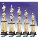 トロフィー、優勝カップ 文字彫刻無料 4本柱トロフィー TO3061E