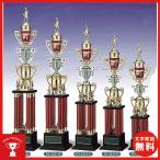 トロフィー、優勝カップ 文字彫刻無料 4本柱トロフィー TO3431A
