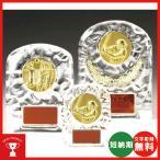 レリーフ交換式クリスタル楯 VSX5501C:社内表彰・企業表彰・周年記念・コンテスト用に高級感あるガラス製楯・クリスタル楯