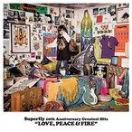 取寄 Superfly 10th Anniversary Greatest Hits『LOVE,PEACE&FIRE』(初回限定盤)  Superf