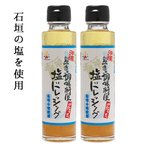 【送料込】塩ドレシング2本 送料無料 沖縄土産 塩だれ 石垣の塩