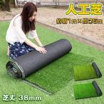 人工芝 人工芝 1m×5m 排水穴 肌に優しい メンテナンスフリー ロールタイプ 春色 夏色 2色 芝丈38mm od439