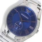 腕時計 エンポリオ アルマーニ EMPORIO ARMANI クオーツ メンズ 腕時計 AR11085 ブルー(ご注文から3〜5日以内に出荷可能商品)